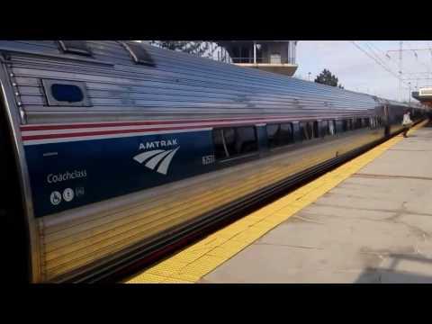 New Carrollton MD. Train Station Railfanning