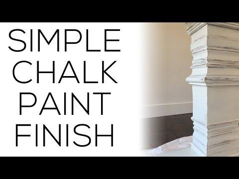 Easy Chalk Paint Finish!