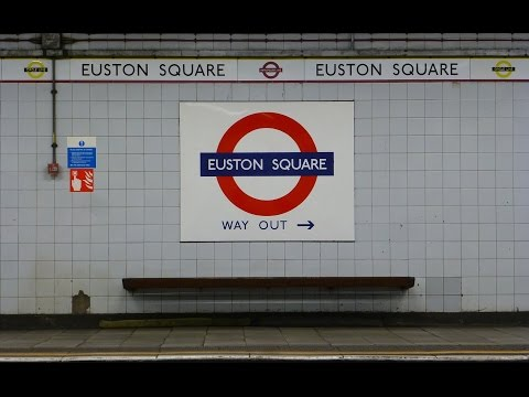Euston Square Train Snapshots