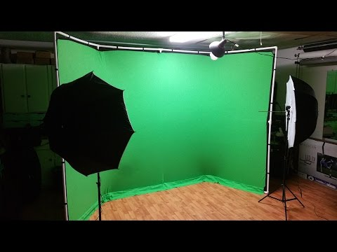 DIY/Retail Mix - Panoramic Green Screen Setup