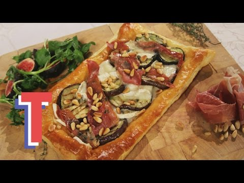 Aubergine & Goat's Cheese Tart | We Heart Food 2