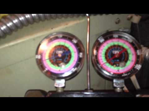 HVAC How to charge geothermal heat pump