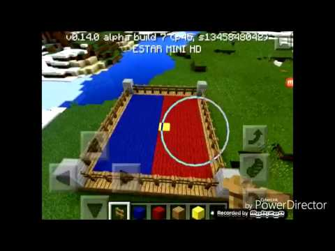Minecraft:Making Boxing ring+Fighting with 15 wolves!
