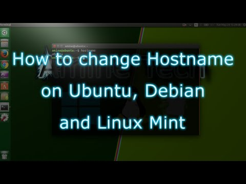 How to change Hostname on Ubuntu, Debian and Linux Mint