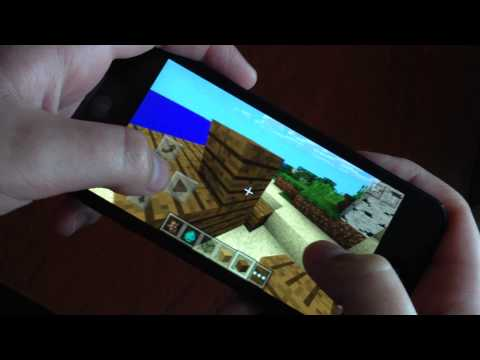 Minecraft Pocket Edition 0.9.0 iOS 8 iPod Touch 5g Review