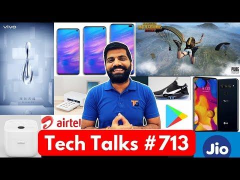 Tech Talks #713 - PUBG Zombie Map, Jio 4G Speed, Samsung S10X 5G, LG V40 ThinQ, Xiaomi Cooker
