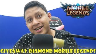 GIVEAWAY DIAMOND MOBILE LEGENDS ! #4