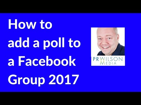 How to create a poll in a Facebook group 2017