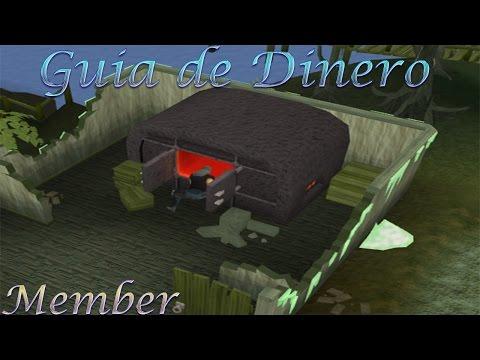Runescape - Guía de Dinero - 930k+/Hr - Creando CannonBalls