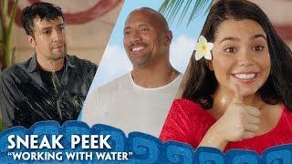 """Working With Water"" Sneak Peek - Behind The Scenes of Moana"
