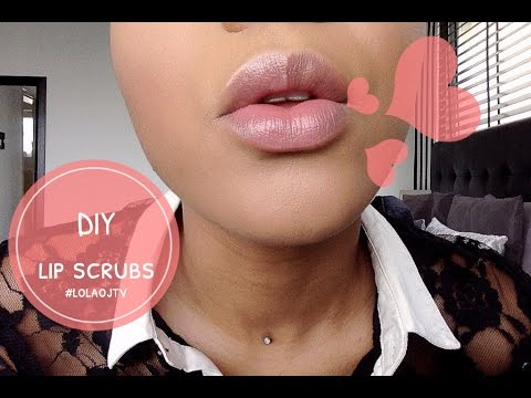 How To: DIY Lip scrub