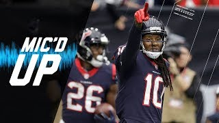 "DeAndre Hopkins Mic'd Up vs. Cardinals ""I'm Trying to Get My Hall of Fame Stats Up"" 