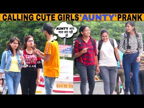 Xxx Mp4 Calling Cute Girls 39 AUNTY 39 Prank By Moin Khan Prank In India Jaipur Tv 3gp Sex