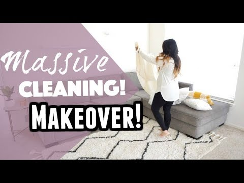 Massive Cleaning For The New Year! 2018