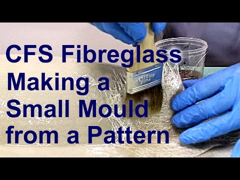 CFS Fibreglass Making a Small Mould