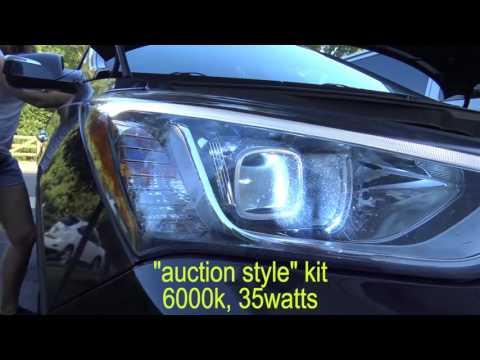 VLOG: Morimoto HID Kit in Hyundai Santa Fe