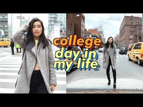 College Day In My Life at NYU in New York City (Very Busy!) | JENerationDIY
