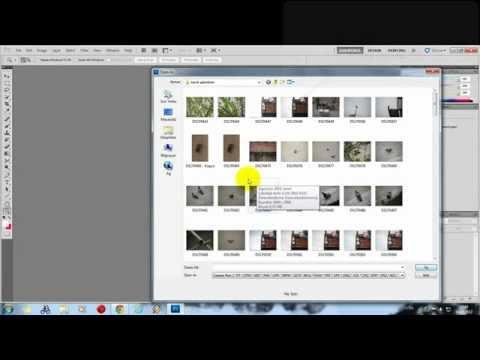 Jpeg dosyasını camera raw formatında açma Photoshop CS4