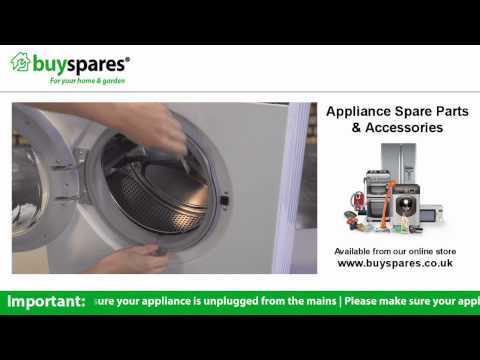 How To Replace The Door Seal on a Washing Machine