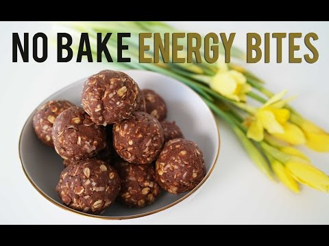 Healthy No Bake Recipe - Energy Bites | ANN LE