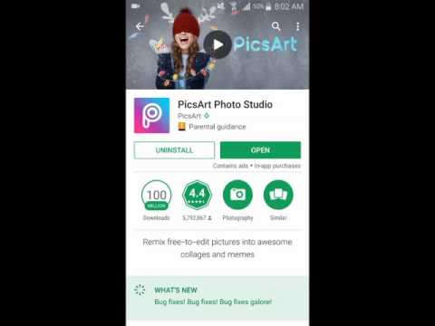 PicsArt Photo Studio for Android - Transform Your Photos into Collage Maker and More