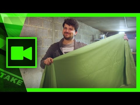 DIY Green Screen setup at home: Low budget | Cinecom.net