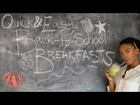 Easy Back-to-School Vegan Breakfast