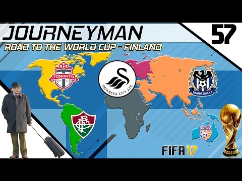 Fifa 17 - Journeyman - Road to the World Cup - #57 (Swansea)
