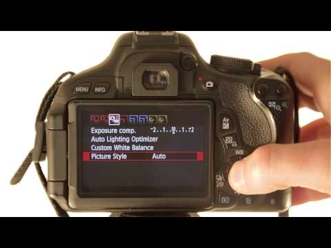 How to Change Picture Style in Movie Mode on a Canon Rebel T3i / T4i / T5i