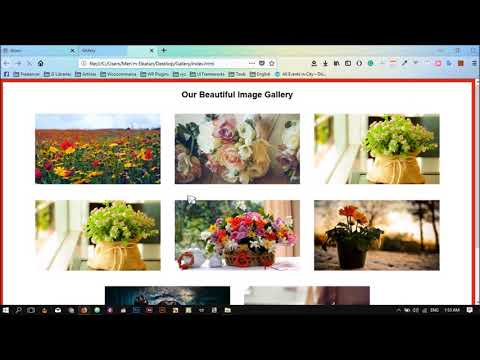 Image Gallery And Lightbox With JavaScript
