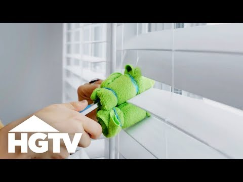 How to Clean Curtains and Blinds - How to House - HGTV