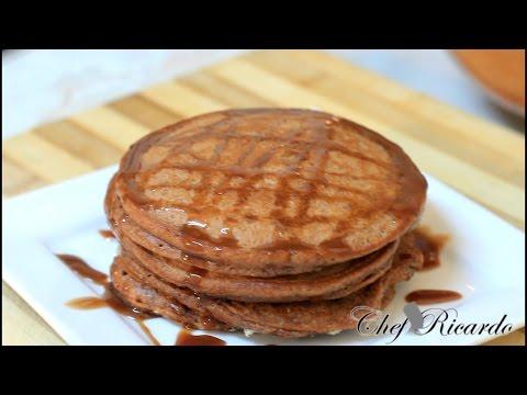 American Chocolate Pancakes | Recipes By Chef Ricardo