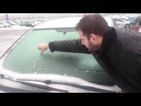 How to clean windshield