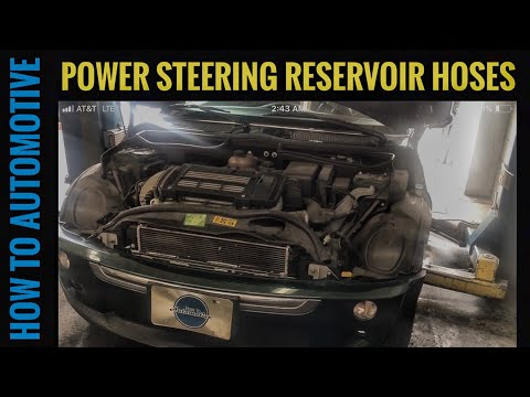 How to Replace the Power Steering Reservoir to Pump Feed Hose on a 2001-2006 Mini Cooper S (R53)