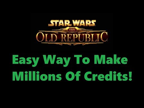 SWTOR: How To Convert Command Tokens To Credits!