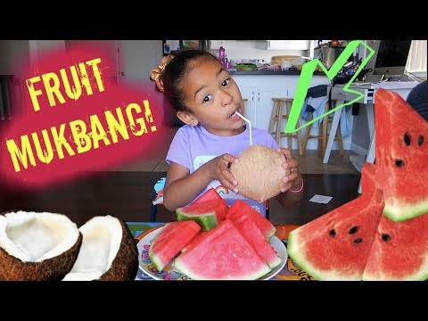 TASTING FRESH COCONUT! *CRISP & JUICY SOUNDS* MUKBANG