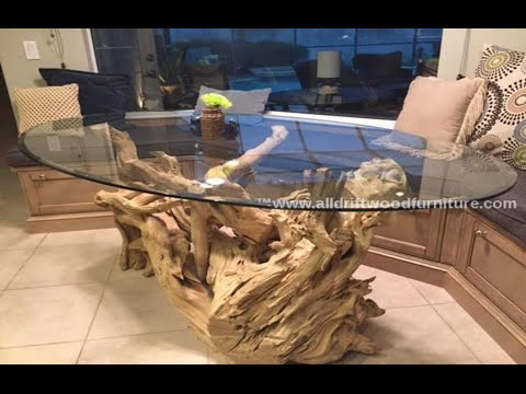 Driftwood dining table, driftwood kitchen table