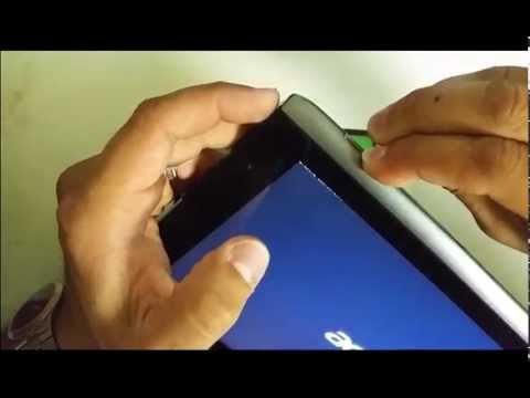 How to ║ Hard Reset a Acer Iconia A500 Tablet ║ Factory Data Reset