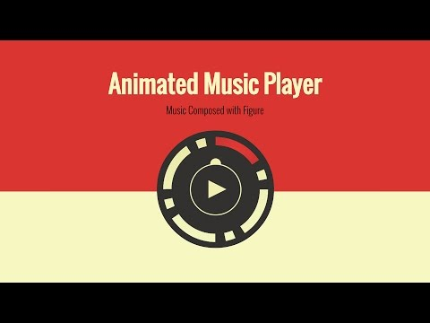 Make a fun animated audio player with JavaScript and CSS3