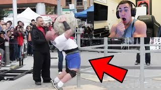 REACTING TO INSANE WEIGHTLIFTING ACCIDENTS #2