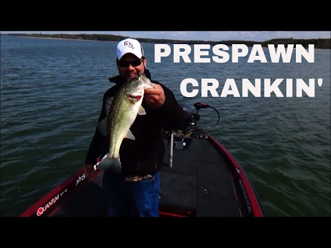 Fishing With Crankbaits for Prespawn Bass on Kerr Lake