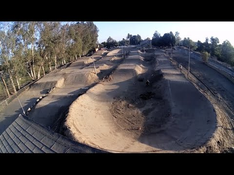 RIDING ABANDONED BMX TRACK! THE ORANGE Y!
