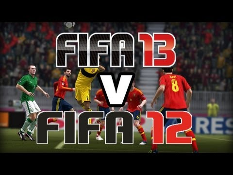 FIFA 13 Vs FIFA 12, Man United 4-0 Wigan, Dream Job, Suarez or Terry - LETS GET PERSONAL