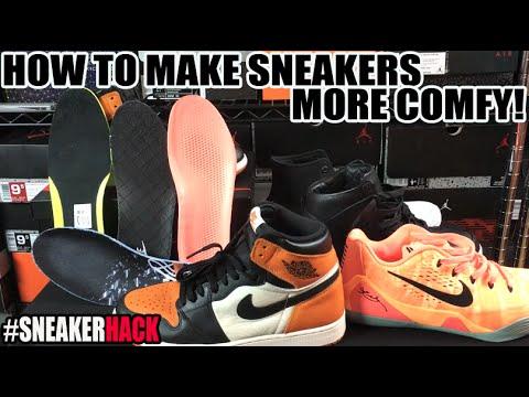 #SneakerHack: How to Make Air Jordan 1 Sneakers More Comfortable