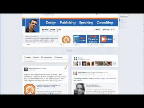 Timeline Facebook Page Layout Tutorial Guide For Authors