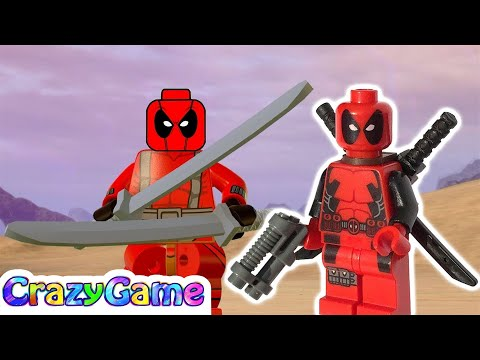 LEGO Marvel Super Heroes 2 How to Make Deadpool