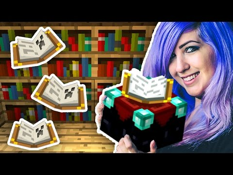 MAX LEVEL ENCHANTMENT TABLE - 15 Bookshelves! | Minecraft with SabrinaBrite