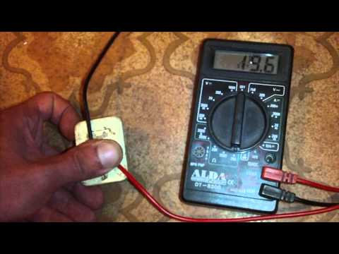 How to test a PTC relay (fridge compressor starting relay)