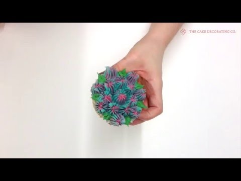 Candy Gem Piping Tip: How to pipe buttercream flowers & designs