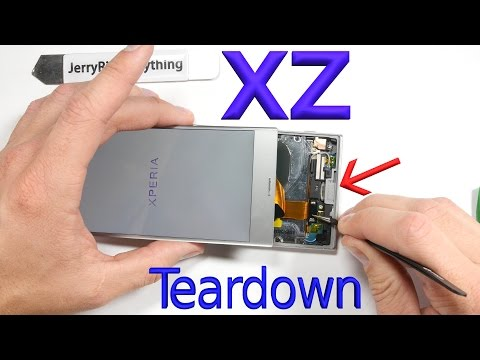 Xperia XZ Screen Repair - Battery Replacement - Complete Teardown